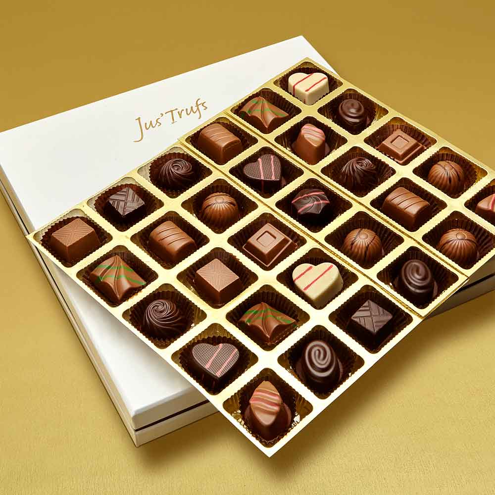 Christmas Premium Assortment of Classic Truffles Box of 30