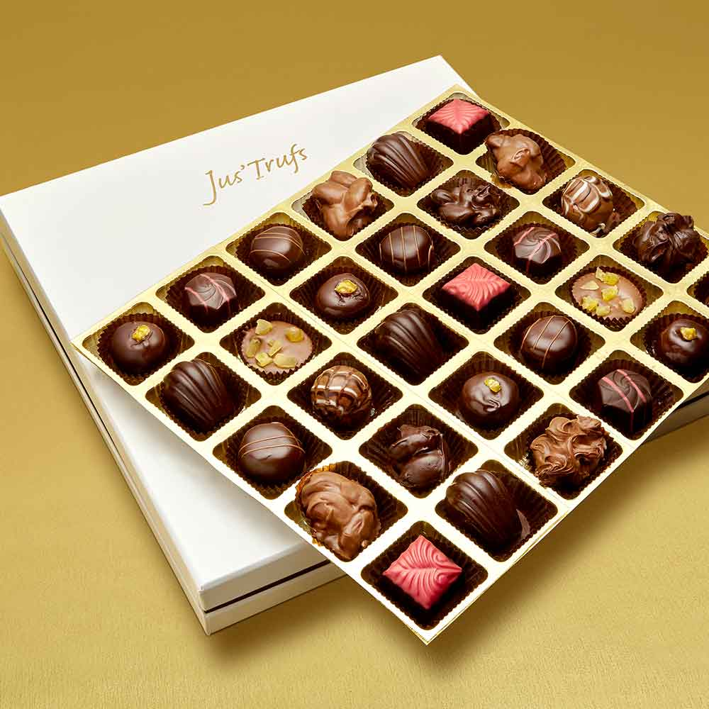 Christmas Luxury Assortment of Chocolate Truffles box of 30